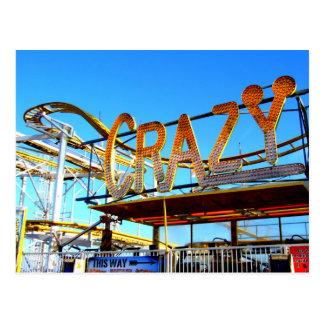 Funfair Ride on Brighton Pier Postcard