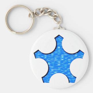 Fünfeck Stern pentagon star Schlüsselanhänger