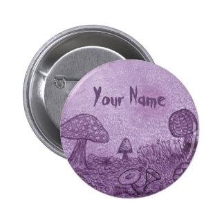 Fungi Meadow Name Button