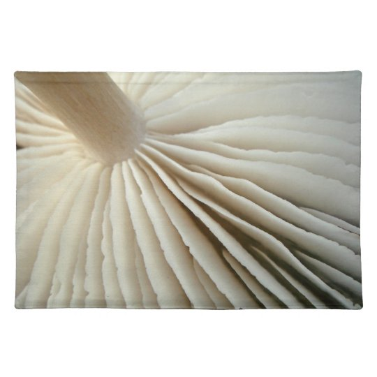 Fungus gills placemat
