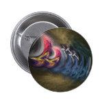 Fungus Round Pin