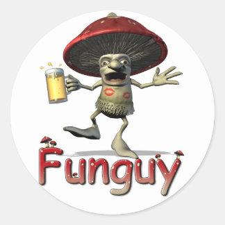 Funguy Mushroom Stickers