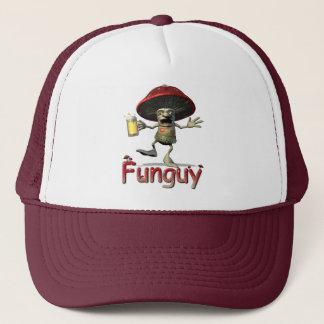 Funguy Mushroom Trucker Hat