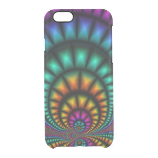 Funhouse Fractals iPhone 6 Clearly™ Deflector Case