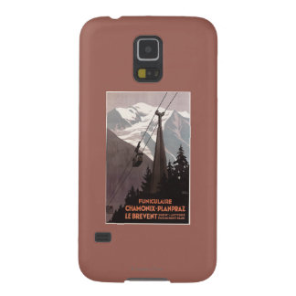 Funiculaire Le Brevent Cable Car Poster Cases For Galaxy S5