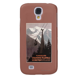 Funiculaire Le Brevent Cable Car Poster Galaxy S4 Case