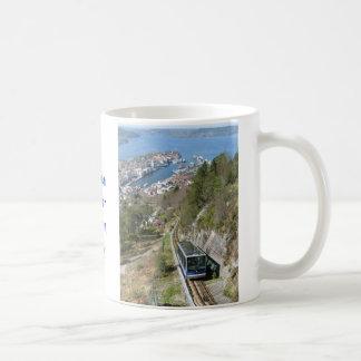 Funicular in Bergen Mug
