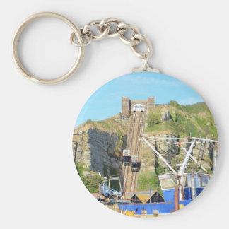 Funicular Railway Hastings Keychains