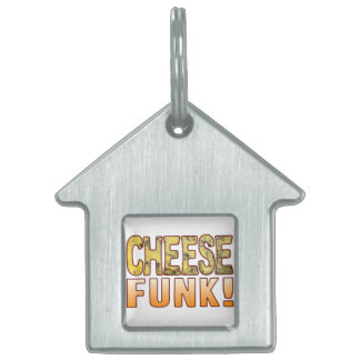Funk Blue Cheese Pet Name Tag