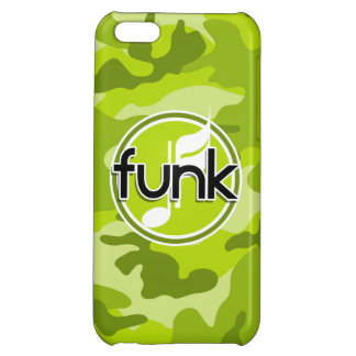 Funk bright green camo camouflage iPhone 5C case