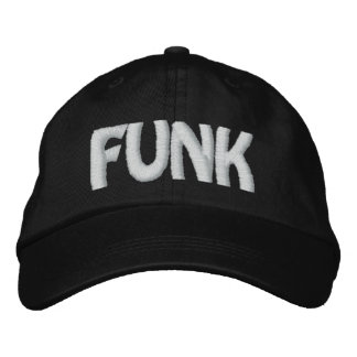 FUNK EMBROIDERED BASEBALL CAPS