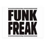 Funk Freak Postcard