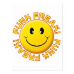 Funk Freak Smile Postcards