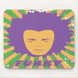 Funk Funky Retro 80s 1980s Disco Man Mouse Pad