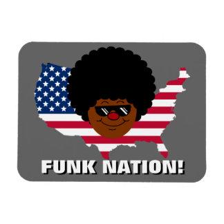 Funk Nation: The United States of Funk Rectangular Photo Magnet