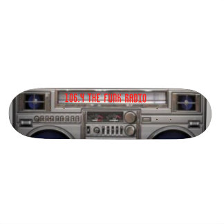 FUNK RADIO DECK 21.6 CM OLD SCHOOL SKATEBOARD DECK
