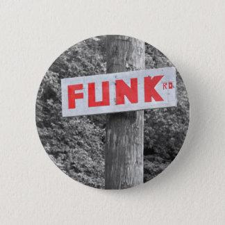 Funk Road 6 Cm Round Badge