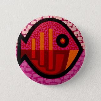 Funkadelic Fish 6 Cm Round Badge