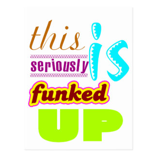 Funked Postcard