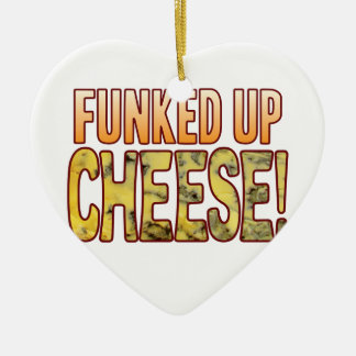 Funked Up Blue Cheese Christmas Ornament