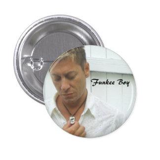 Funkee Boy 3 Cm Round Badge