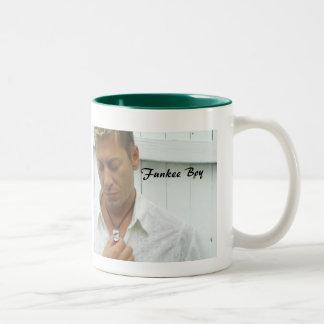 Funkee Boy Two-Tone Coffee Mug