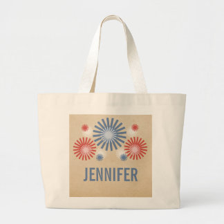 Funky 4th of July Fireworks Bag