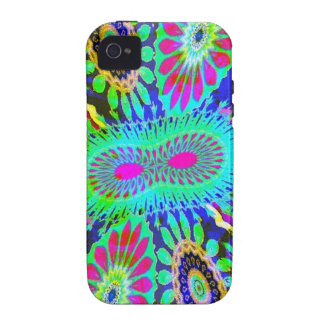 Funky 60s flowers case for the iPhone 4