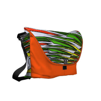Funky Abstract Art Bag! #12 Courier Bag
