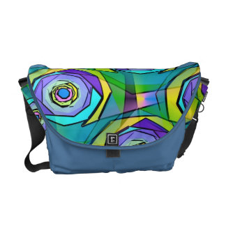 Funky Abstract Art Bag! #2 Courier Bag