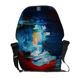 Funky Abstract Art Bag! #4 Commuter Bag