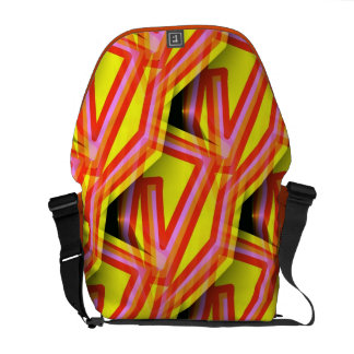 Funky Abstract Art Bag! #7 Courier Bags