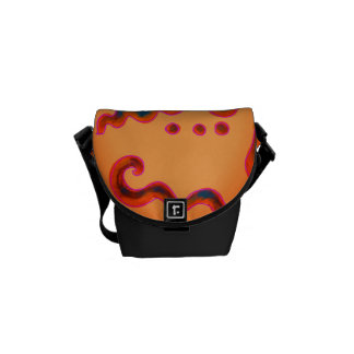 Funky Abstract Art Handbag Commuter Bag