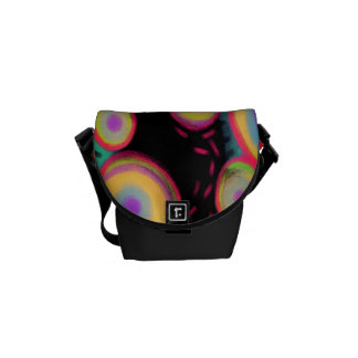 Funky Abstract Art Handbag Messenger Bags