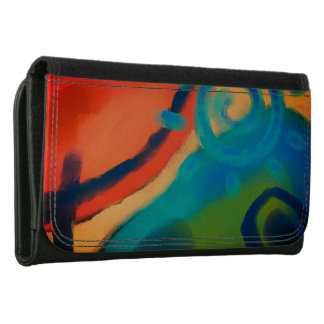 Funky Abstract Art Wallet
