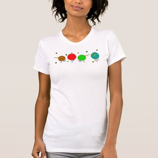 Funky Abstract Birds T Shirt