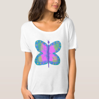 Funky Abstract Butterfly Wearable Art Shirts