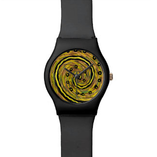 Funky Abstract Customizable Wristwatch