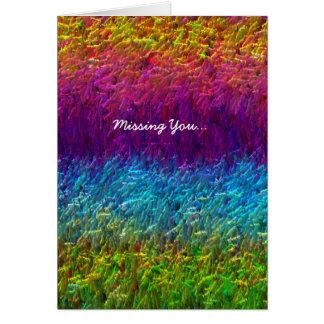 Funky Abstract Greeting Card II
