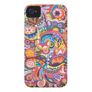 Funky Abstract iPhone 4/4S Case-Mate Barely There
