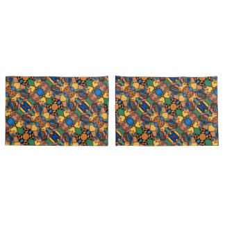 Funky Abstract Pattern Pillowcase