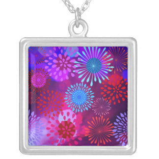 Funky Abstract Sparkle Shine Flower Petals Jewelry