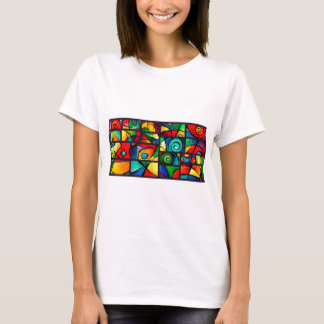 Funky Abstract Swirly Art T-Shirt