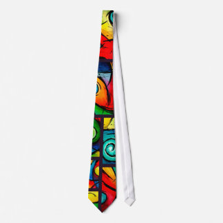 Funky Abstract Swirly Art Tie