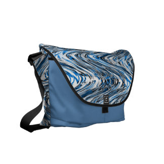 Funky Abstract WAVES Art Bag! #14 Commuter Bag