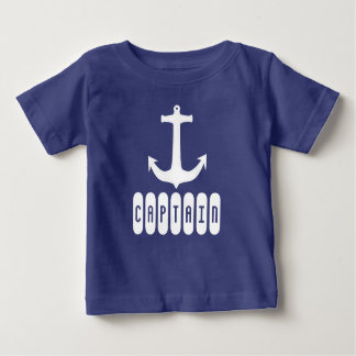Funky Anchor Captain Toddler T-Shirt