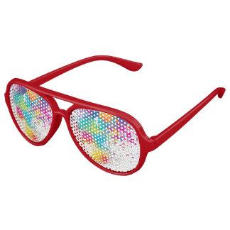 funky and colourful aviator sunglasses