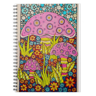funky and fun in the garden notebook