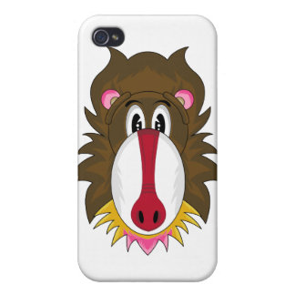 Funky Baboon iphone Case