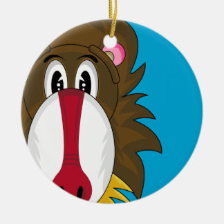 Funky Baboon Ornament
